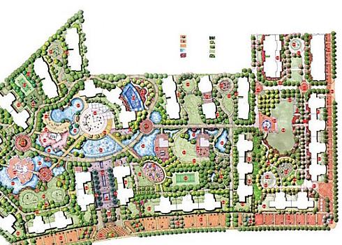 小区楼盘/大型工厂/商业大厦等整体规划